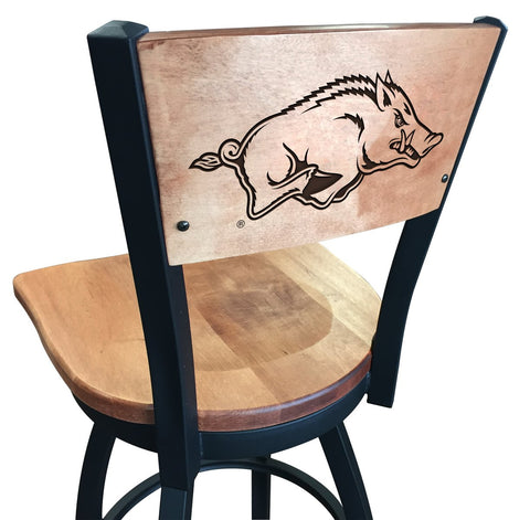 "Arkansas Razorbacks 25"" Counter Stool"