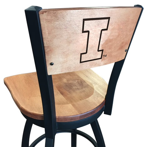 "Illinois Fighting Illini 25"" Counter Stool"