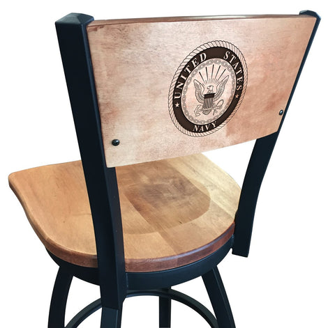 "Navy Midshipmen 30"" Bar Stool"