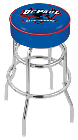 DePaul Blue Demons Retro Bar Stool 25""