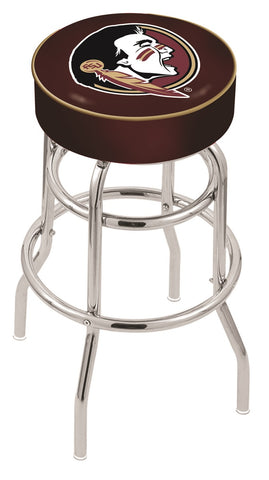 FSU Seminoles Head Retro Bar Stool 30""