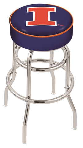 Illinois Fighting Illini Retro Bar Stool 25""
