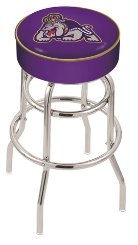 James Madison Dukes Retro Bar Stool 25""