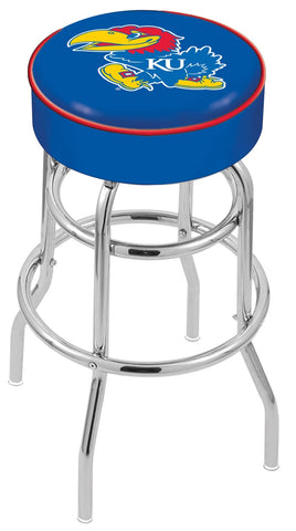 Kansas Jayhawks Retro Bar Stool 25""