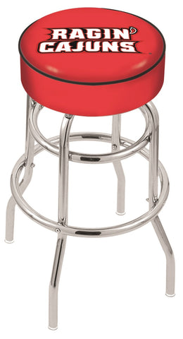 Louisiana Lafayette Ragin Cajuns Retro Bar Stool 25""