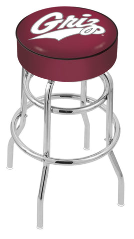 Montana Grizzlies Retro Bar Stool 30""