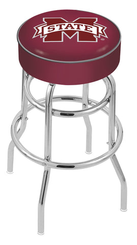 Mississippi State Bulldogs Retro Bar Stool 30""