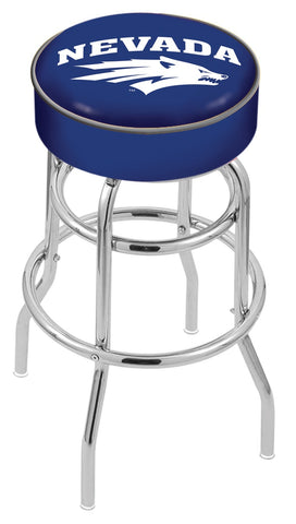 Nevada Wolf Pack Retro Bar Stool 25""