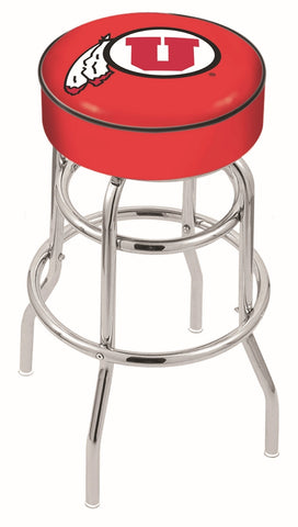 Utah Utes Retro Bar Stool 30""
