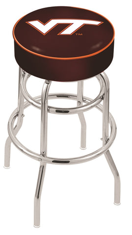 Virginia Tech Hokies Retro Bar Stool 25""