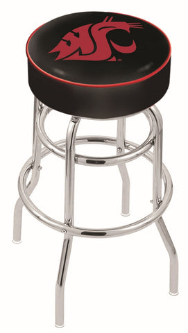 Washington State Cougars Retro Bar Stool 25""