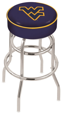 West Virginia Mountaineers Retro Bar Stool 30""
