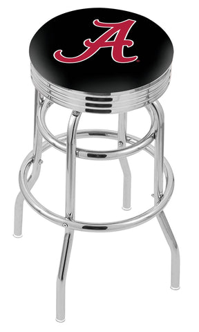 Alabama Crimson Tide A Retro II Bar Stool 25""