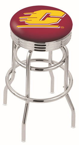Central Michigan Chippewas Retro II Bar Stool 25""