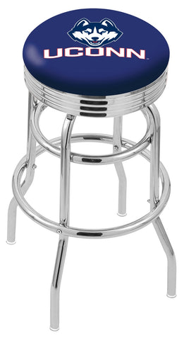 Connecticut Huskies Retro II Bar Stool 30""