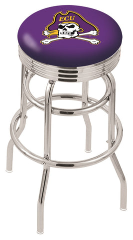 East Carolina Pirates Retro II Bar Stool 25""