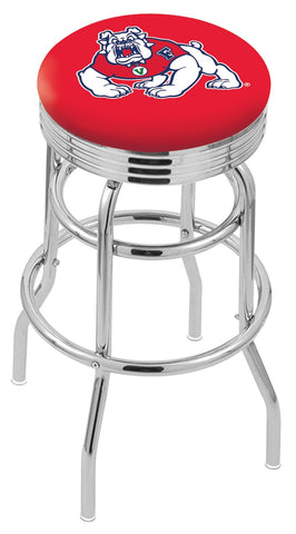 Fresno State Bulldogs Retro II Bar Stool 25""