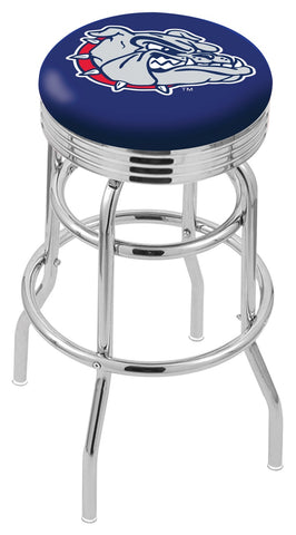 Gonzaga Bulldogs Retro II Bar Stool 25""