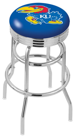 Kansas Jayhawks Retro II Bar Stool 25""
