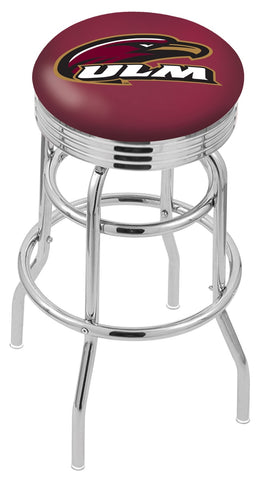 Louisiana Monroe Warhawks Retro II Bar Stool 30""