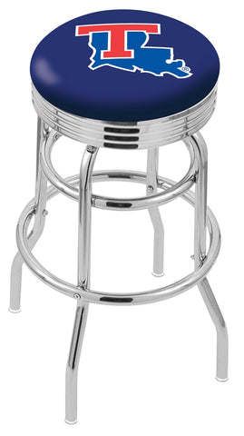 Louisiana Tech Bulldogs Retro II Bar Stool 25""