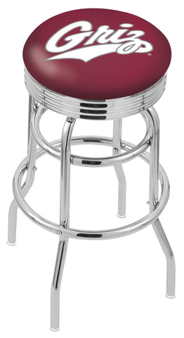 Montana Grizzlies Retro II Bar Stool 30""