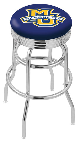 Marquette Golden Eagles Retro II Bar Stool 30""