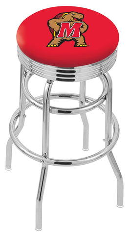 Maryland Terrapins Retro II Bar Stool 25""