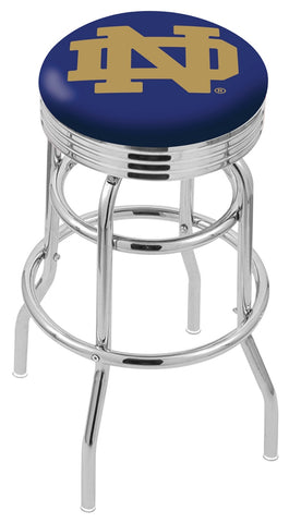 Notre Dame Fighting Irish Retro II Bar Stool 30""