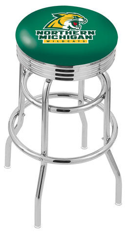 Northern Michigan University Retro II Bar Stool 25""
