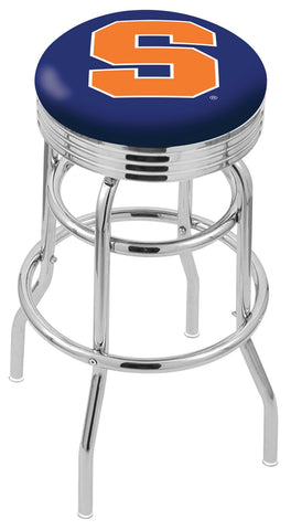 Syracuse Orange Retro II Bar Stool 25""
