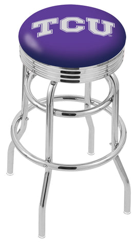 TCU Horned Frogs Retro II Bar Stool 30""