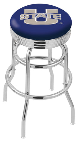 Utah State Aggies Retro II Bar Stool 30""