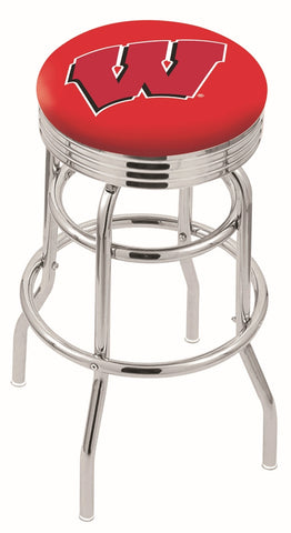 Wisconsin Badgers W Retro II Bar Stool 25""