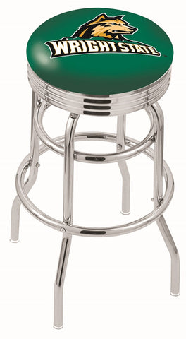 Wright State Raiders Retro II Bar Stool 30""