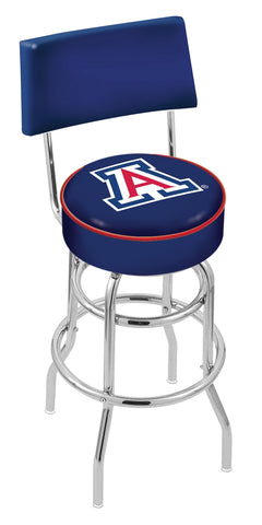 Arizona Wildcats Retro Bar Stool with Back 30""