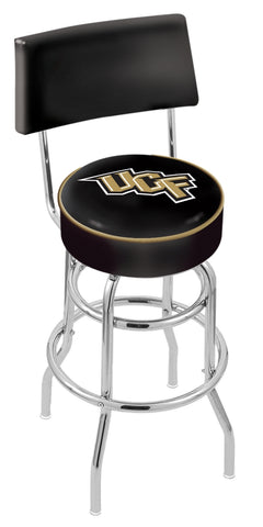 Central Florida Knights Retro Bar Stool with Back 25""