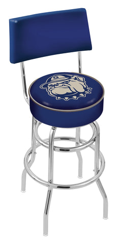 Georgetown Hoyas Retro Bar Stool with Back 25""