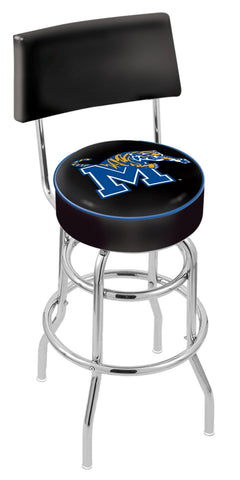 Memphis Tigers Retro Bar Stool with Back 30""