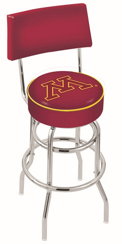 Minnesota Golden Gophers Retro Bar Stool with Back 30""