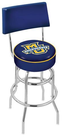 Marquette Golden Eagles Retro Bar Stool with Back 30""