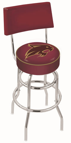 Texas State Bobcats Retro Bar Stool with Back 25""