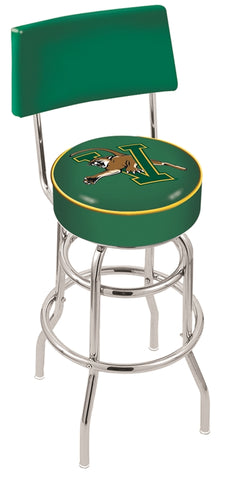 Vermont Catamounts Retro Bar Stool with Back 25""