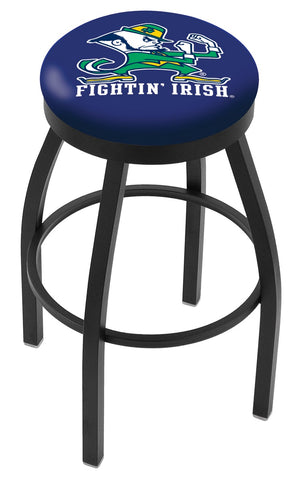 Notre Dame (Leprechaun) Contempo II Bar Stool 25""