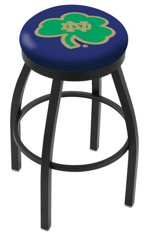 Notre Dame  (Shamrock) Contempo II Bar Stool 30""