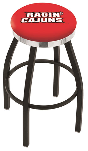 Louisiana Lafayette Ragin Cajuns Contempo III Bar Stool 25""