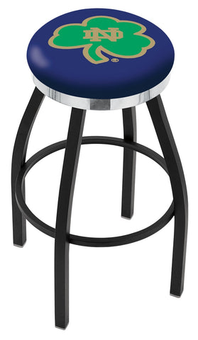 Notre Dame  (Shamrock) Contempo III Bar Stool 25""