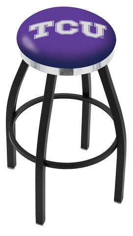 TCU Horned Frogs Contempo III Bar Stool 25""