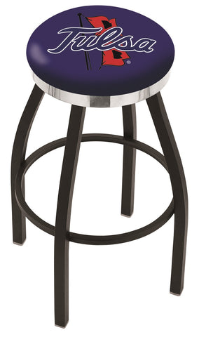 Tulsa Golden Hurricanes Contempo III Bar Stool 25""