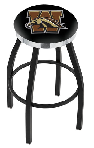 Western Michigan Broncos Contempo III Bar Stool 30""